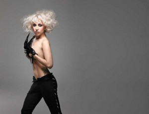 Lady Gaga Topless